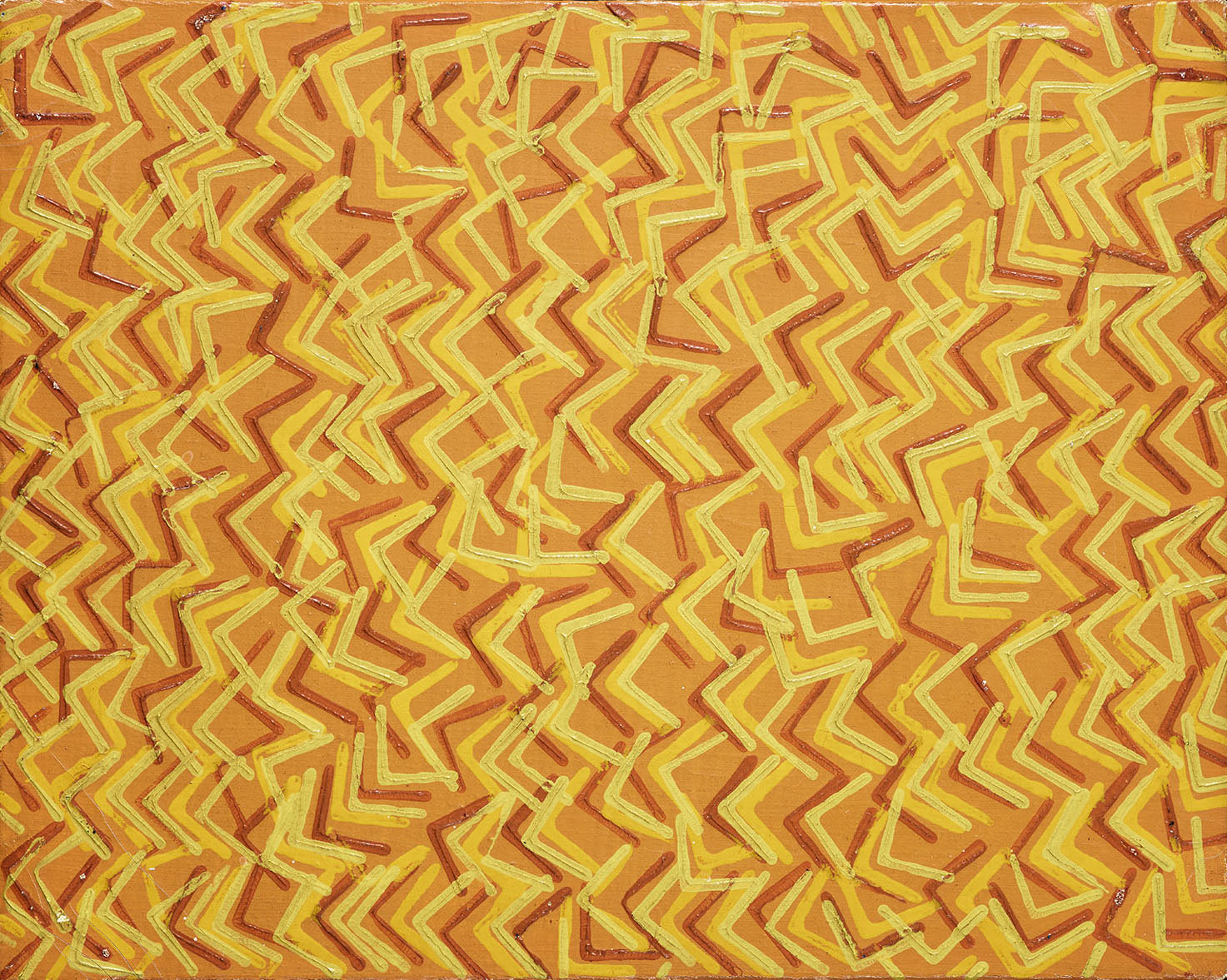 Kinetic composition, 1975, oil on canvas, cm 20 x 24