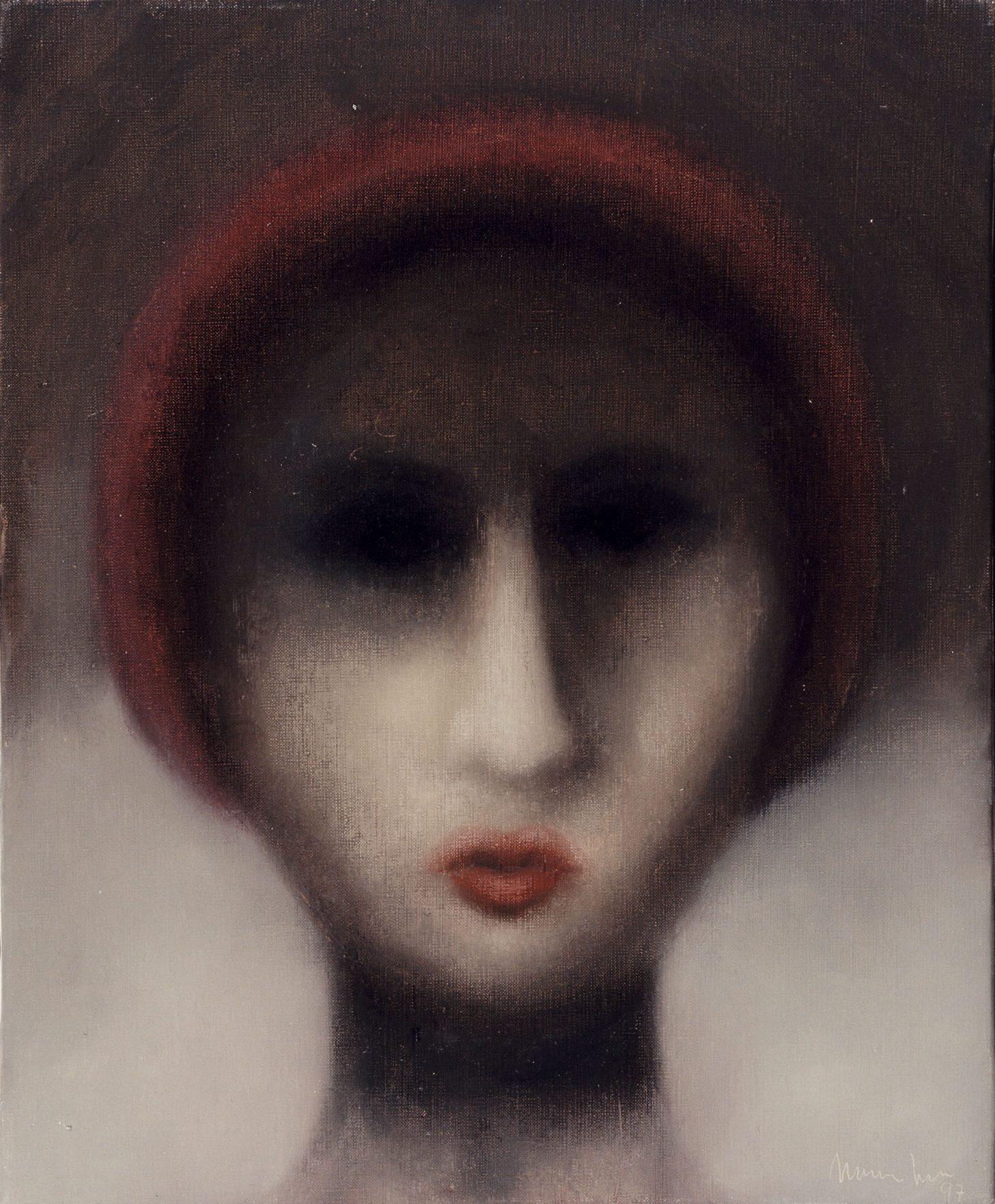 Sombras, 1997, óleo sobre tela