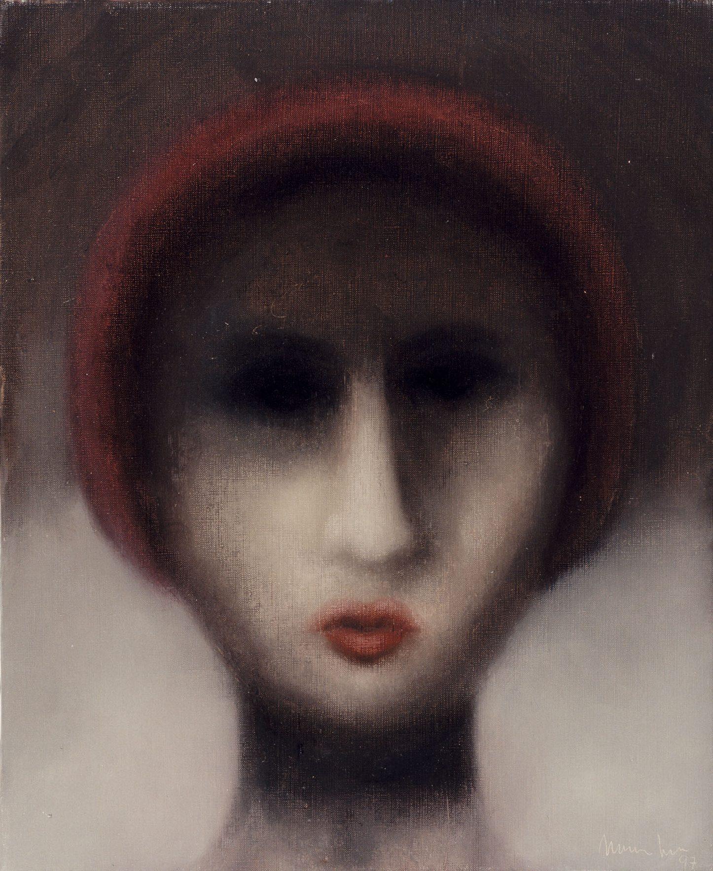 Ombres, 1997, oli sobre tela