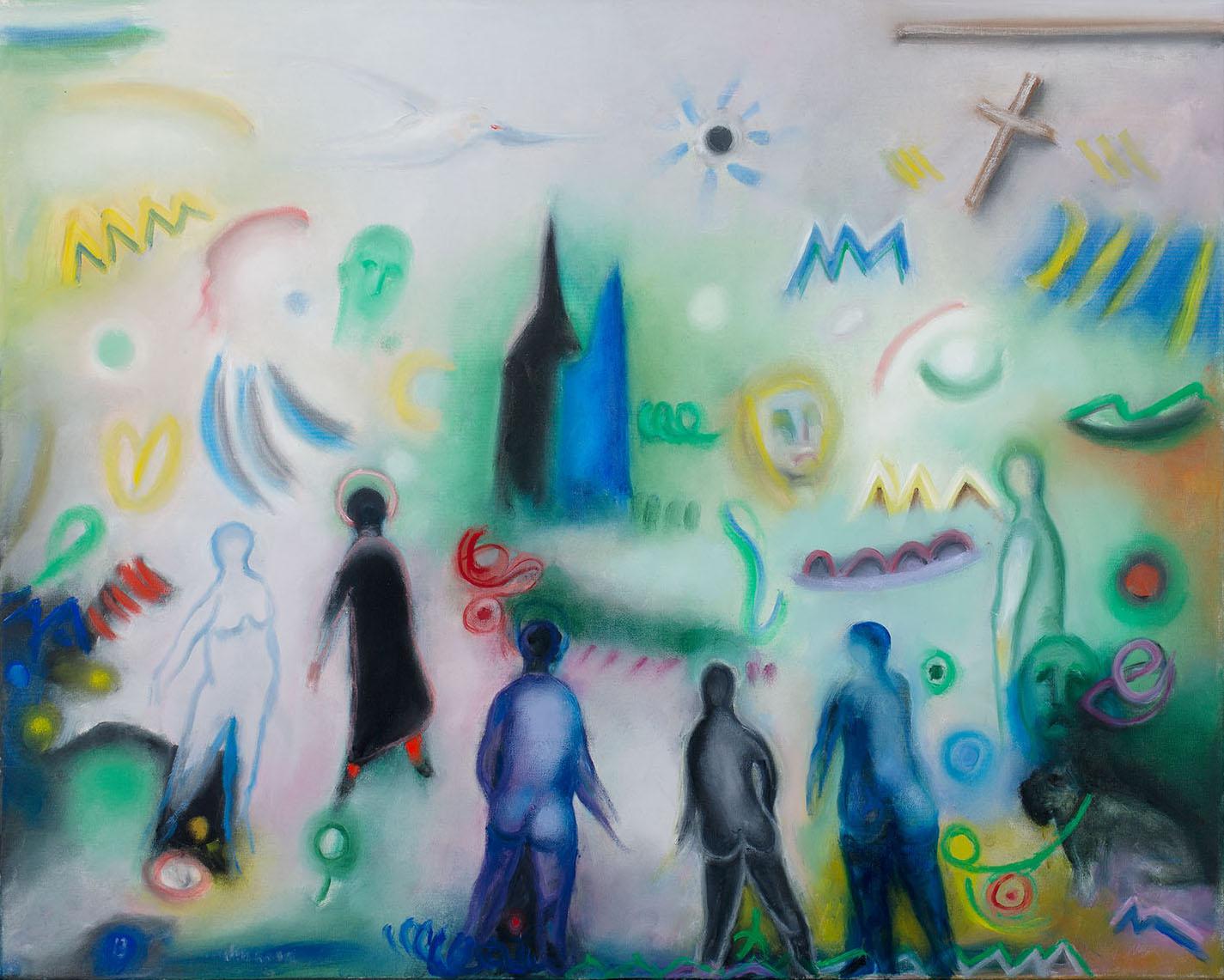 Daydream, 2012-2014, oil on canvas, cm 81 x 65