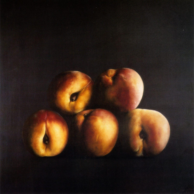 Fruites, 1986, oli sobre tela, cm 100 x 100