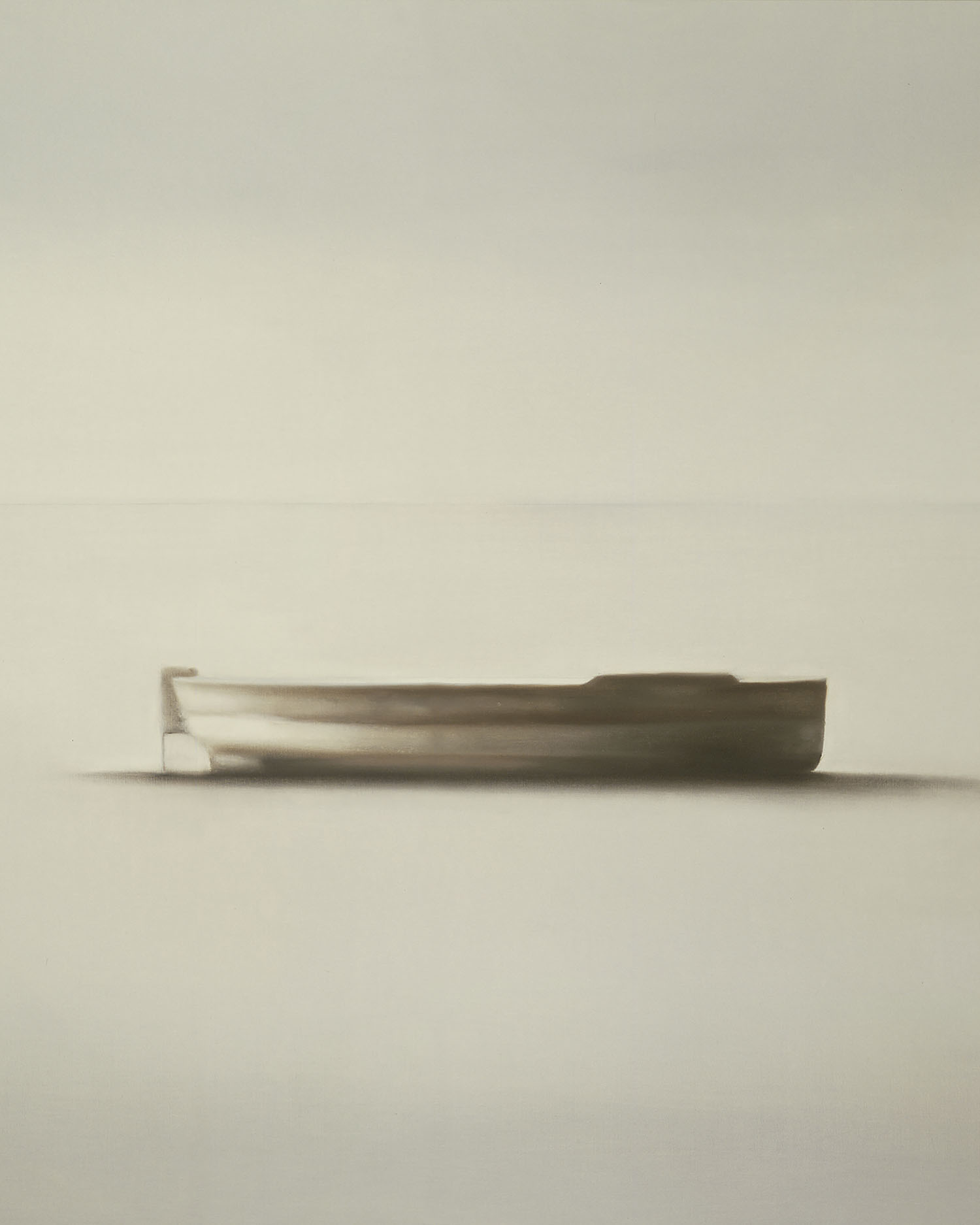Barca. Josep Navarro Vives. 1986, oli sobre tela, cm 97 x 160.
