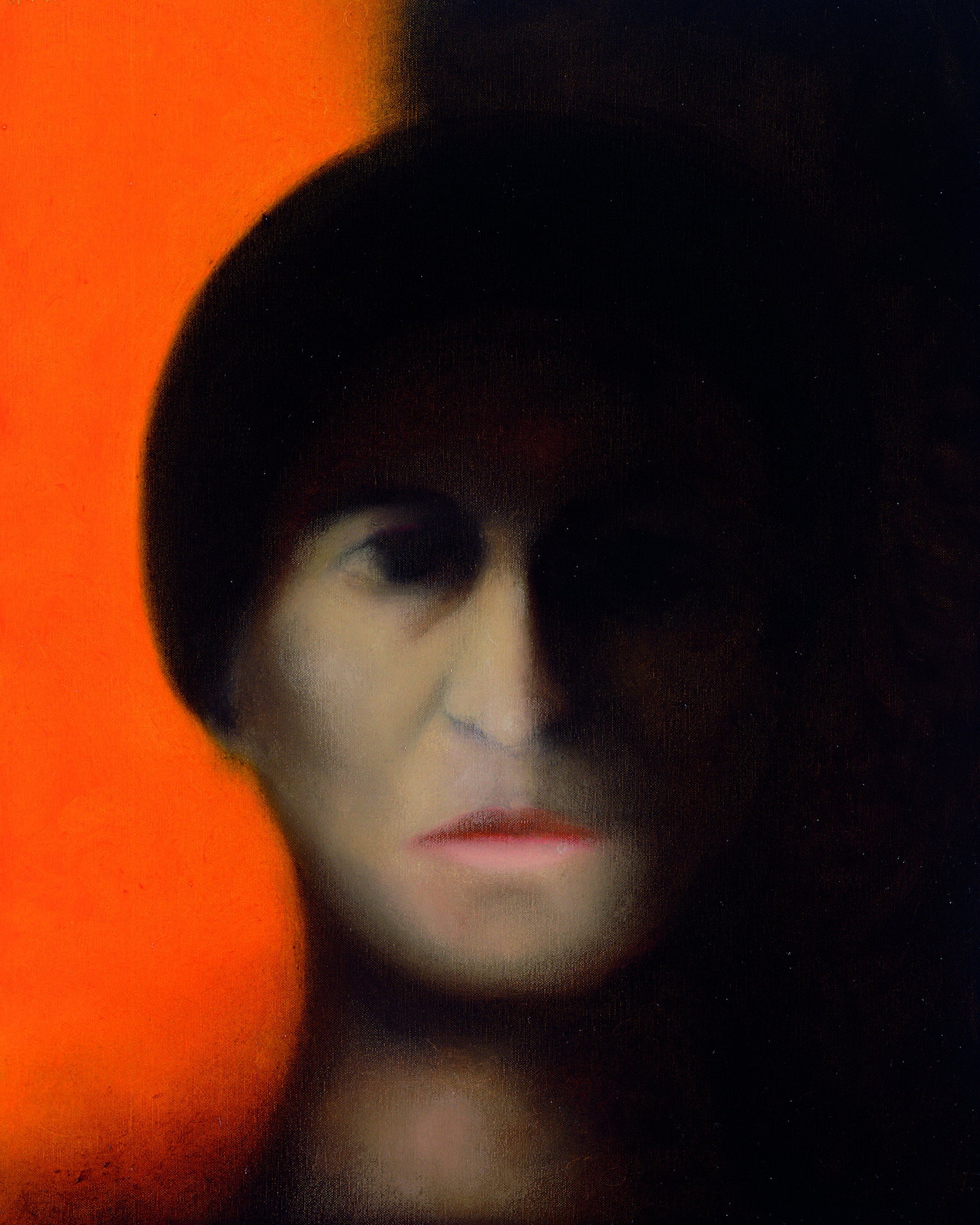 Shadow. Josep Navarro Vives. 2000, oil on canvas, cm 41 x 33.